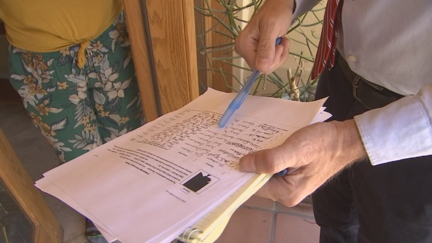 Mark Syms, independent running for AZ. Senate, faces accusations of forged paperwork. (Source: 3TV/CBS 5 News)