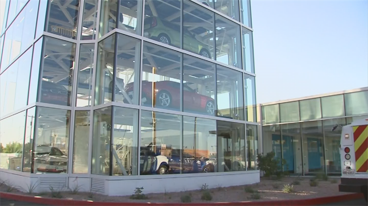 Customers can get buy a car by simply putting in a large gold coinafter they go through a 10-minute purchase process online. (Source: 3TV/CBS 5)