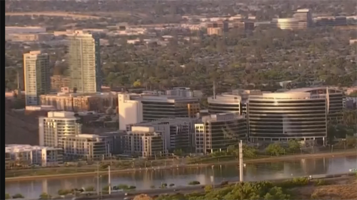 A recent Tech30 study ranked Tempe as the No. 1destination for tech companies to buy and rent office space. (Source: 3TV/CBS 5)