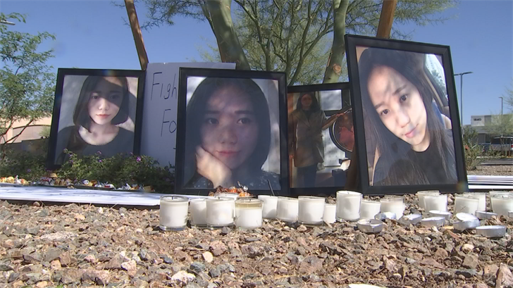 According to Tempe police, Davis shot and killed Arizona State University student Yue Jiang of China, after rear-ending the back of her car on January 18, 2016. (Source: 3TV/CBS 5)