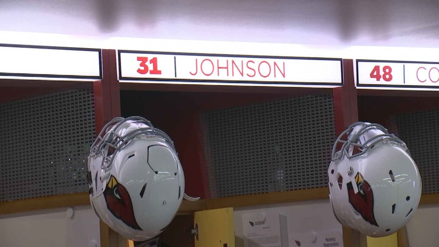 David Johnson was not with the Cardinals during the start of mandatory mini-camp. (Source: 3TV/CBS 5)