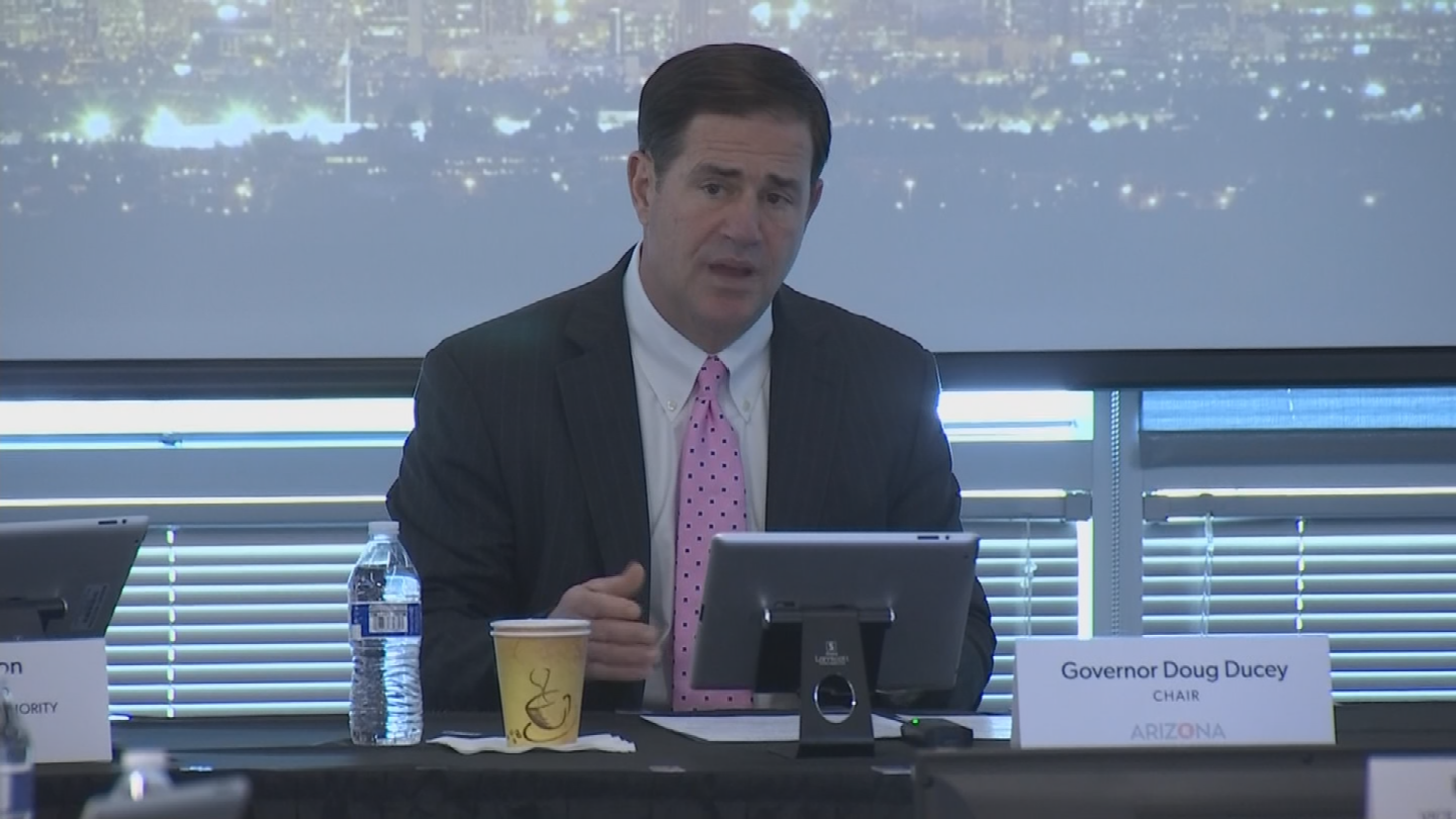 Republican Gov.Doug Ducey had proposed a school safety bill earlier this year. (Source: 3TV/CBS 5)