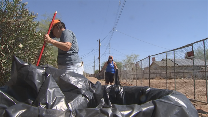The streets of Phoenix are looking a little brighter after this past weekend. (Source: 3TV/CBS5)