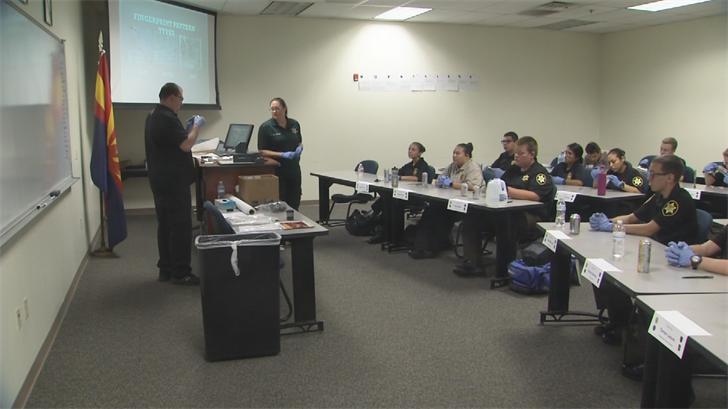 The free two-week course teaches cadets how to handle different scenarios in the field, communication skills and first aid. (Source: 3TV/CBS 5)