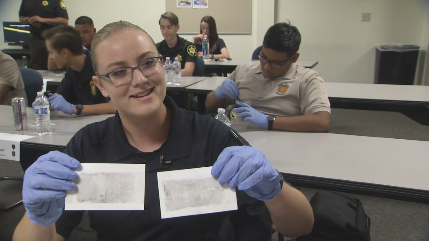 There are 17 cadets wrapping up the current course. (Source: 3TV/CBS 5)