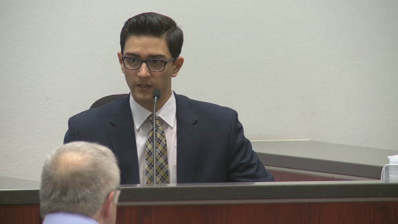 File photo of Steven Jones on trial for the fatal shooting on NAU campus. (Source: 3TV/CBS 5)