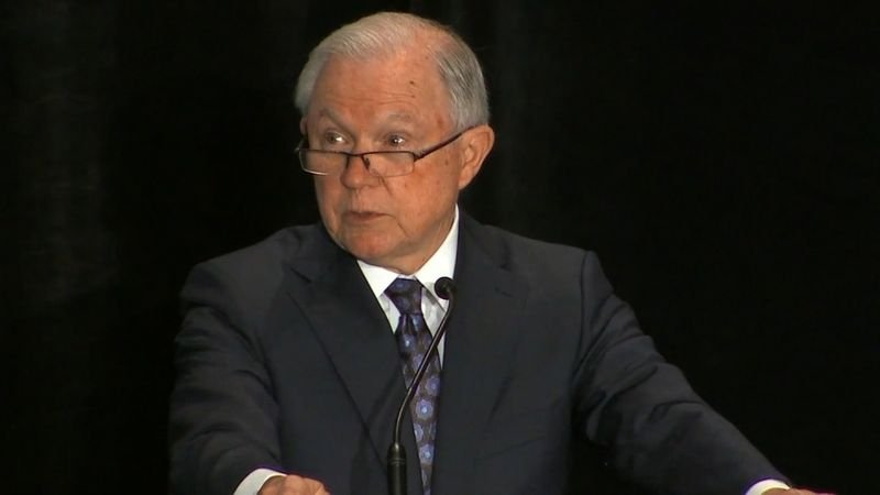 Attorney General Jeff Sessions used Bible verses to defend the separation of families who illegally cross the border into the United States. (Source: CNN)