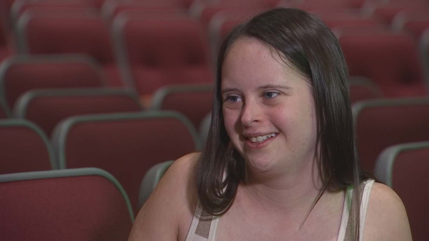"""I'm ready, focused and prepared,"" said Marie Lucas, who plays Pinocchio. (Source: 3TV/CBS 5)"