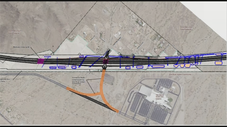 ADOT estimates that more than 20 years from now, 2,000 cars could use the interchange each day. That's too many for some residents. They worry some of those cars could end up in their neighborhood, whether by accident or otherwise.(Source: 3TV/CBS 5)