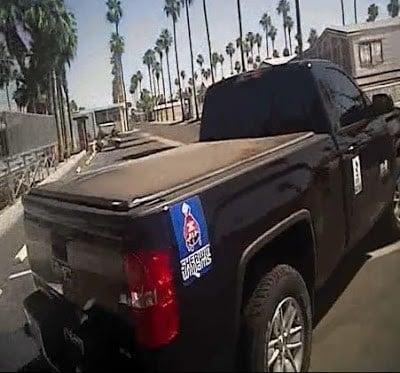 He was seendriving a Black GMC Sierra. (Source: Mesa Police Department)