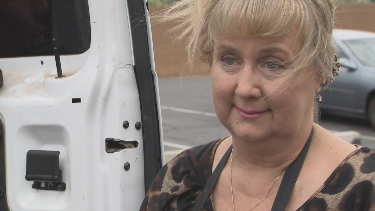Renni Bankowski, 55, was involved in a wrong-way crash. Doctors believe she suffered a seizure caused by a brain tumor she did not know she had. (Source: 3TV/CBS 5)