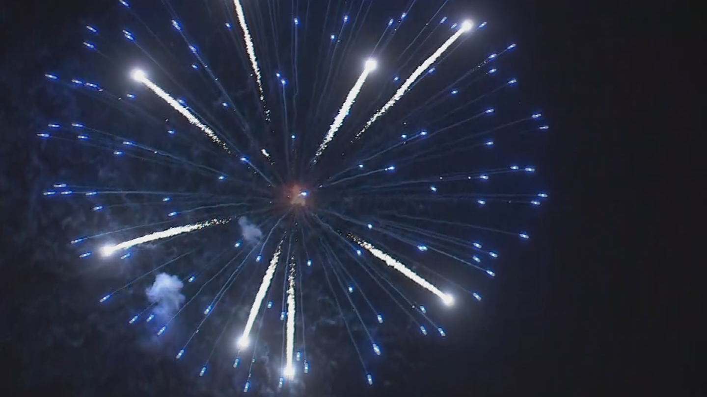 Some fireworks displays have been cancelled due to high fire danger. (Source: 3TV/CBS 5 News)