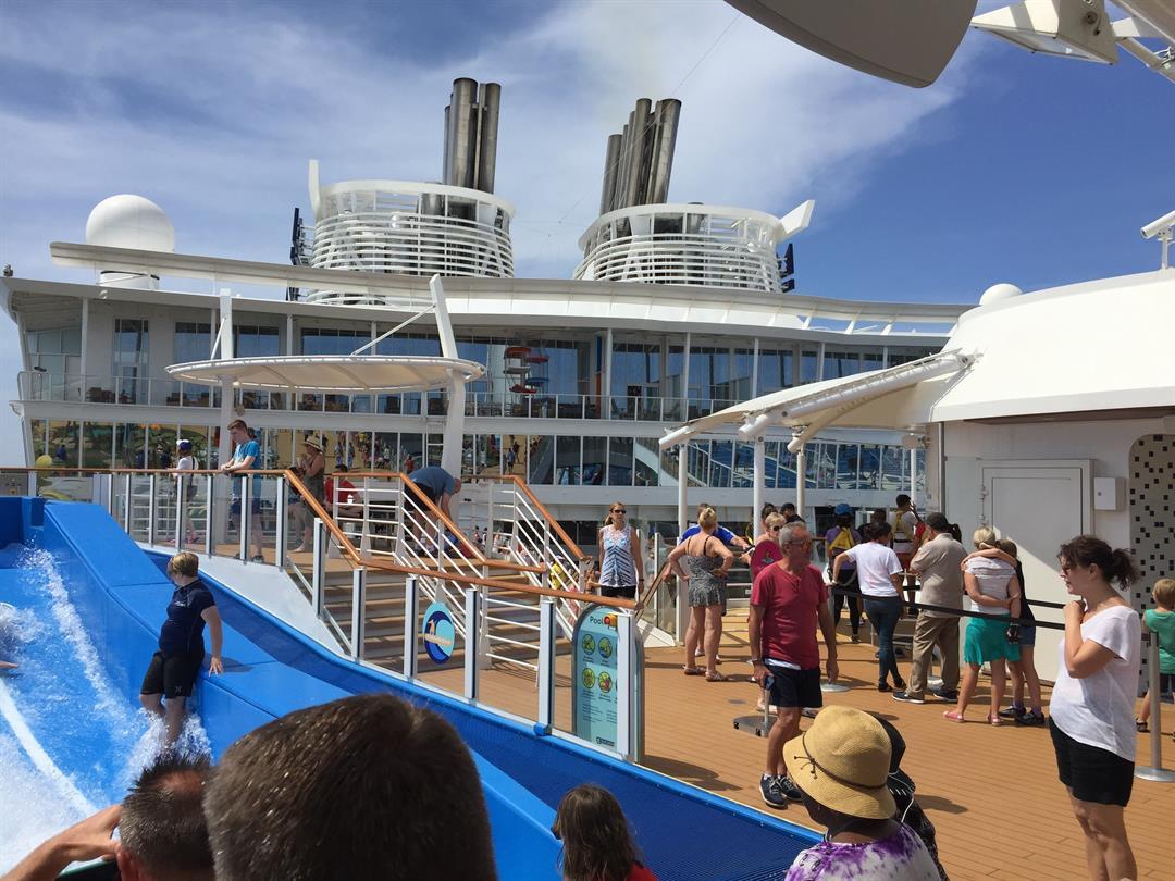 Aboard the Symphony of the Seas (Source: Rosanne Coloccia)