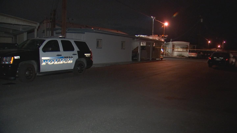 Mesa police said the man was holding a realistic BB gun. (Source: 3TV/CBS 5)