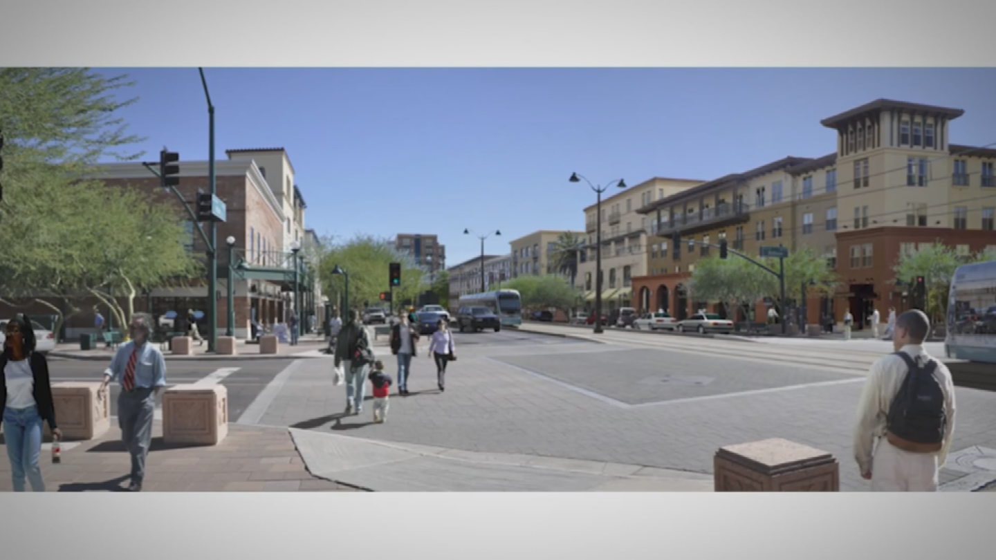 Several new buildings are planned for the revamped downtown Mesa. (Source: City of Mesa)