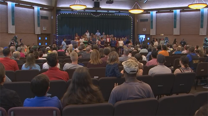 Songs, prayersand speeches, all speaking out on behalf of the children that have been separated from their parents at the U.S. border. (Source: 3TV/CBS 5)