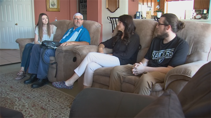 Drury's thankful to be alive and spend Father's Day with his family. (Source: 3TV/CBS 5)
