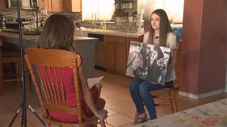 """""""It's just a day for being thankful,"""" said his 21-year-old daughter Naomi.""""A day for remembering the strongcharacteristic traits my dad has and how he's instilled that in us. We'vecome out of this such a strong family."""" (Source: 3TV/CBS 5)"""