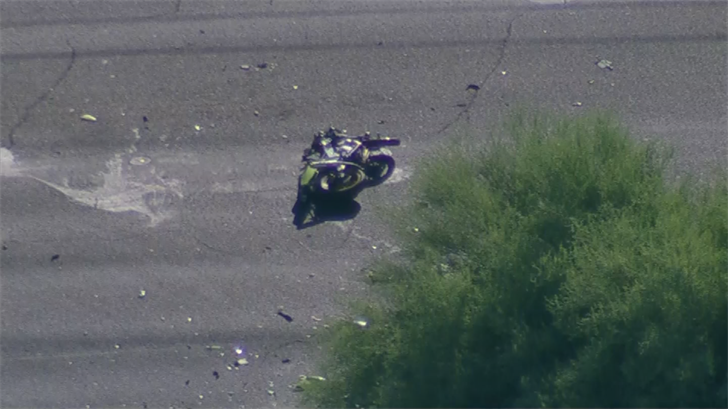 Crews tried to revive him but he died at the scene. (Source: 3TV/CBS 5)