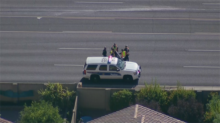 The driver remained at the scene and is cooperating with officers, police said. (Source: 3TV/CBS 5)