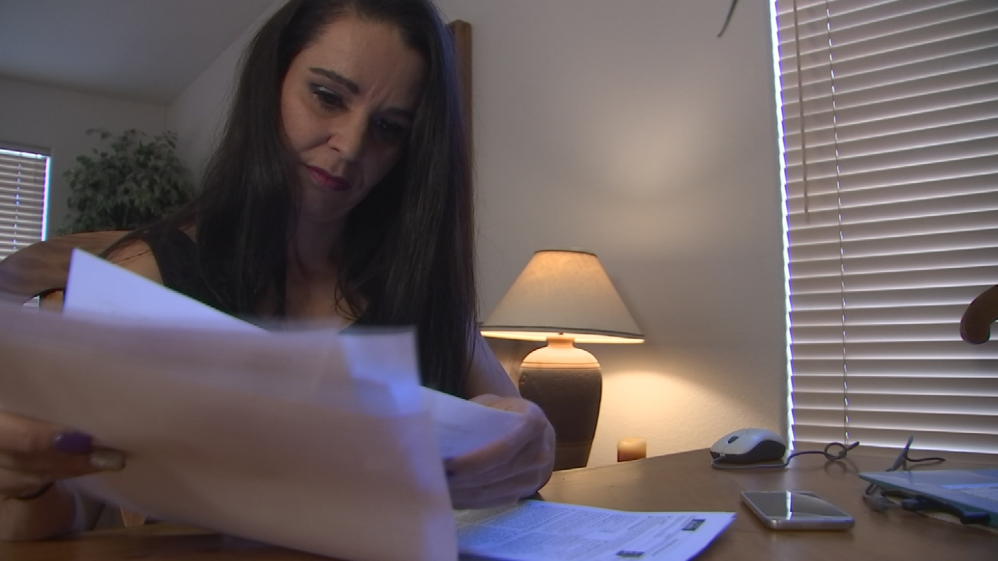 Cristina Allen said she messed up putting in her bank account when filing her taxes and now she doesn't have her refund. (Source: 3TV/CBS 5)