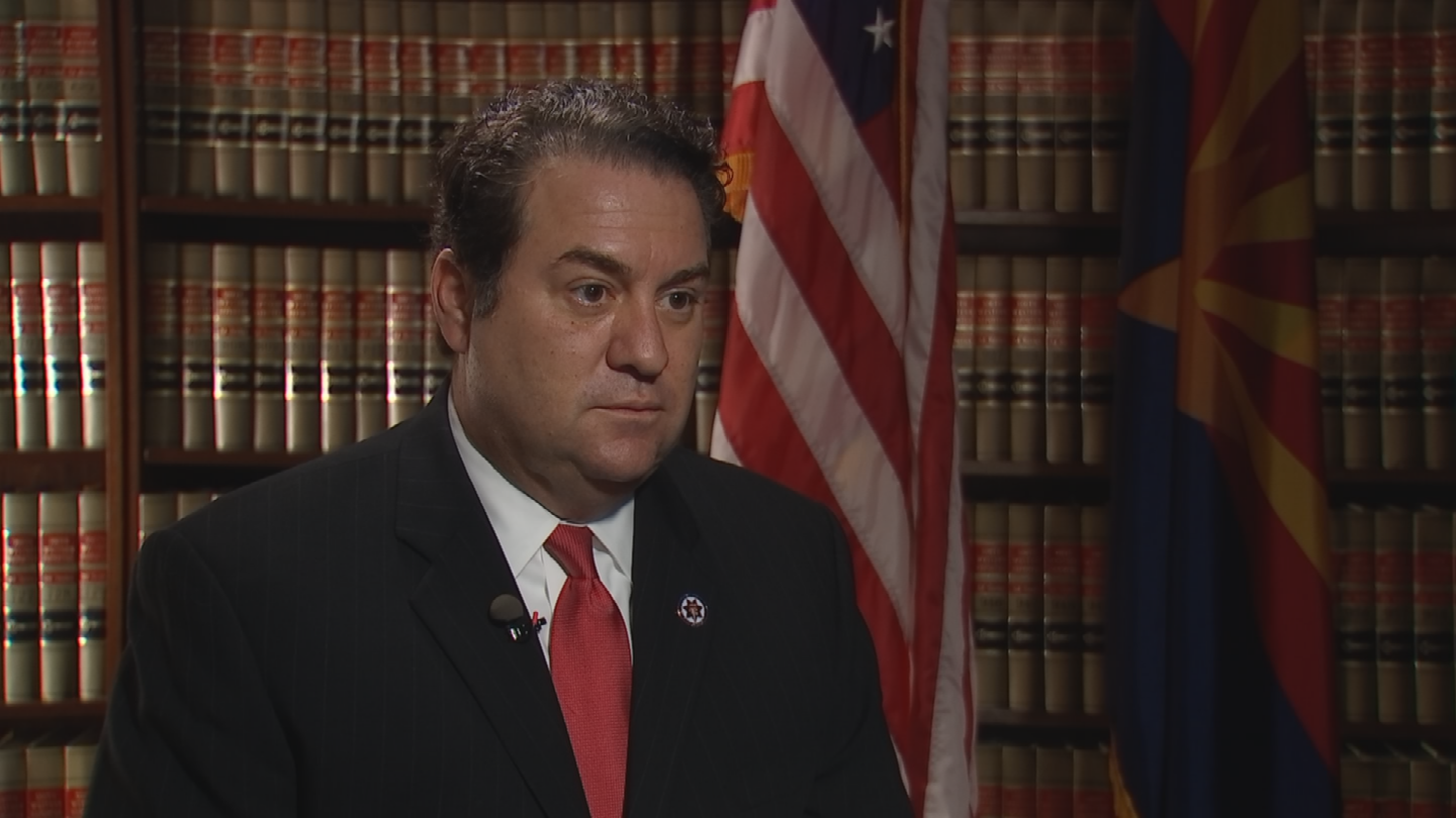 The Arizona Attorney General's Office said Mark Brnovich's mom had her signature forged on a campaign petition. (Source: 3TV/CBS 5)