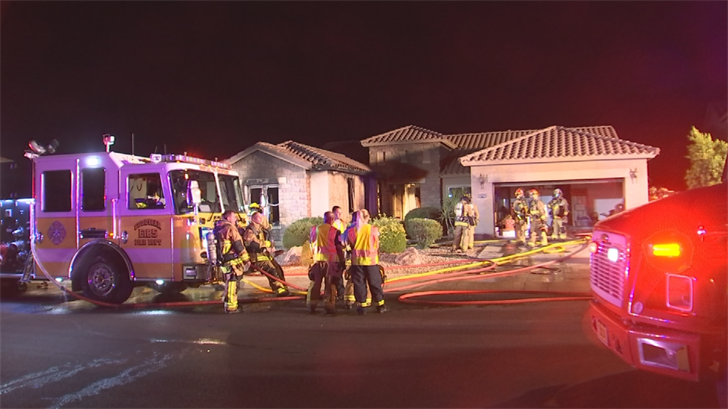 The Goodyear home was declared unlivable. (Source: 3TV/CBS 5)