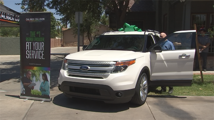 Cancer Support Community Arizona received a brand-new SUV as a gift. (Source: 3TV/CBS 5)