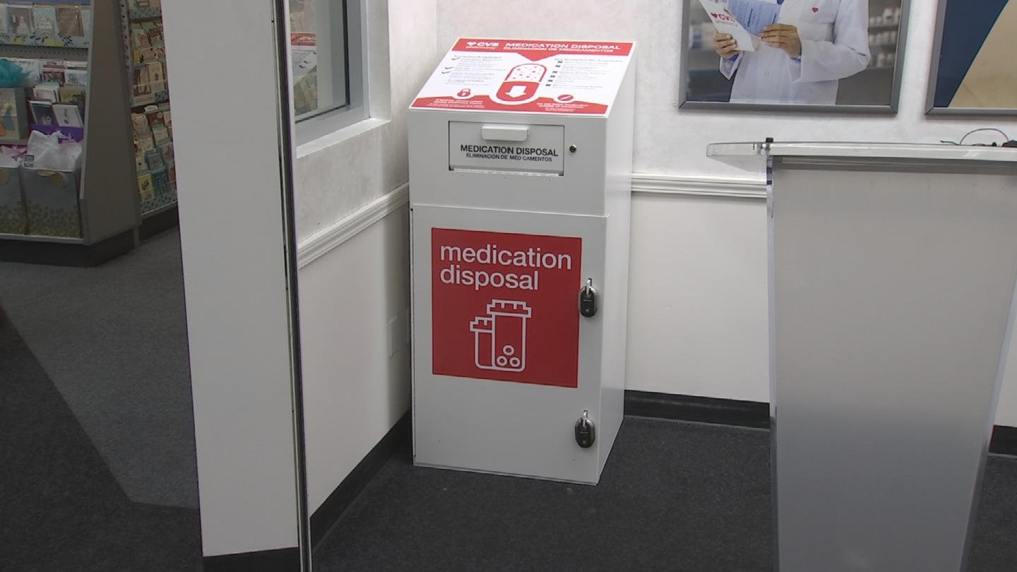 CVS Pharmacy said it will add 13 medication disposal units at CVS Pharmacy stores around the state of Arizona. (Source: 3TV/CBS 5)