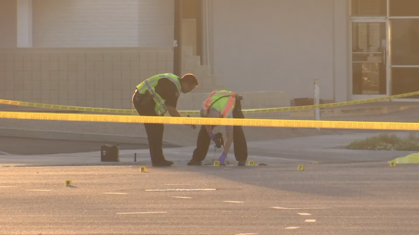 The deadly hit-and-run crash occurred at the intersection of Scottsdale and McDowell roads. (Source: 3TV/CBS 5)