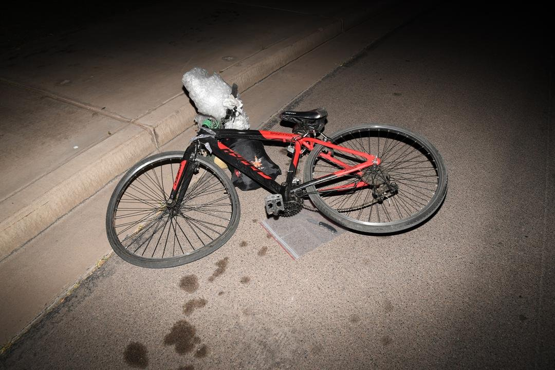 Police released new aftermath photos of the incident on Thursday night. (Source: Tempe Police Department)