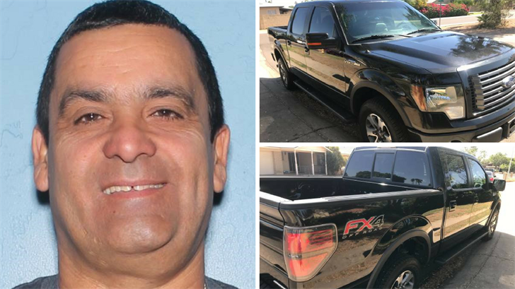 Gustavo Martinez-Gonzalez went missing during a test drive in an attempt to sell his truck to two men. (Source: Phoenix Police Department)