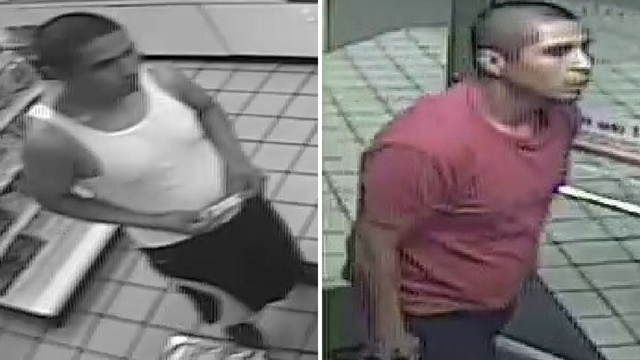 Police said this man robbed a Shell gas station. (Source: Silent Witness)