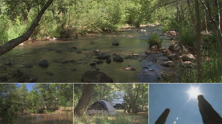 A look inside the beautiful Lo Lo Mai Springs in Cornville. (Source: 3TV/CBS 5)