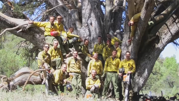 19 Hotshots who died in the Yarnell Hill Fire. (Source: 3TV/CBS5)