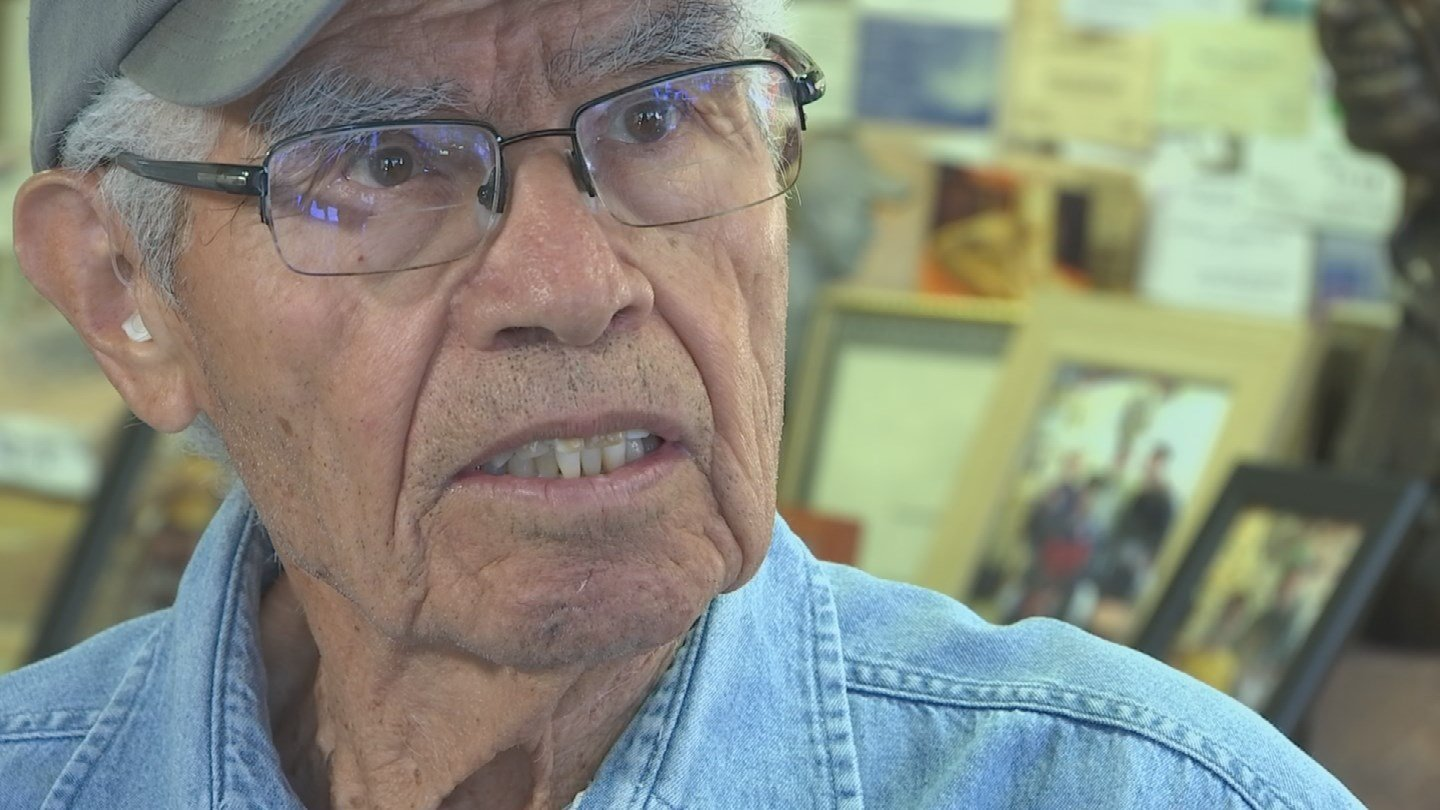 The longtime barber in Seligman, Angel Delgadillo was one of the original founding members of the Arizona Route 66 Association. (Source: 3TV/CBS 5)