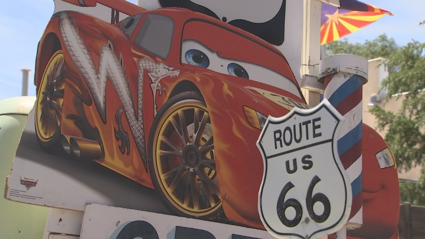 Ananimated Disney filmcelebrates and tells the story of Route 66 and Seligman to younger generations.(Source: 3TV/CBS 5)