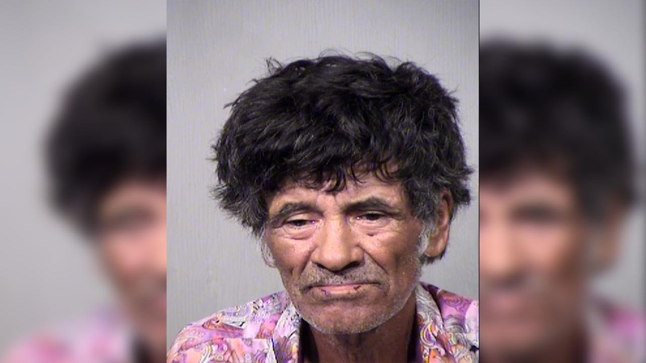 A 61-year-old man remains behind bars on multiple charges after he drove the wrong way through a Phoenix intersection and then struck a man on the sidewalk, critically injuring him on Sunday. (Source: Maricopa County Sheriff's Office)
