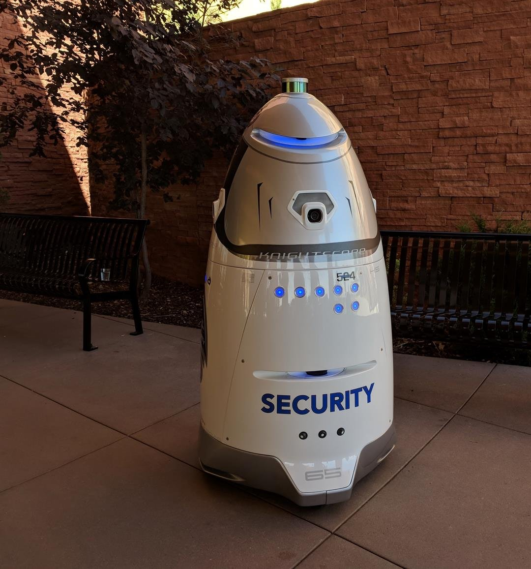 The security robot will start his job Friday, June 29. (Source:The Ferraro Group)