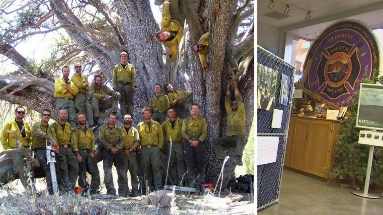 The Granite Mountain Hot Shot Crew Learning and Tribute Center opened in Prescott Friday. (Source: 3TV/CBS 5 News)
