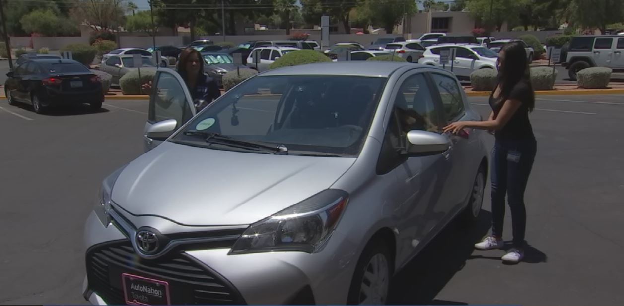 Martha is enrolled full time at Pima Medical Institute in Mesa and pays for her tuition as an Uber driver. (Source: 3TV/CBS 5)