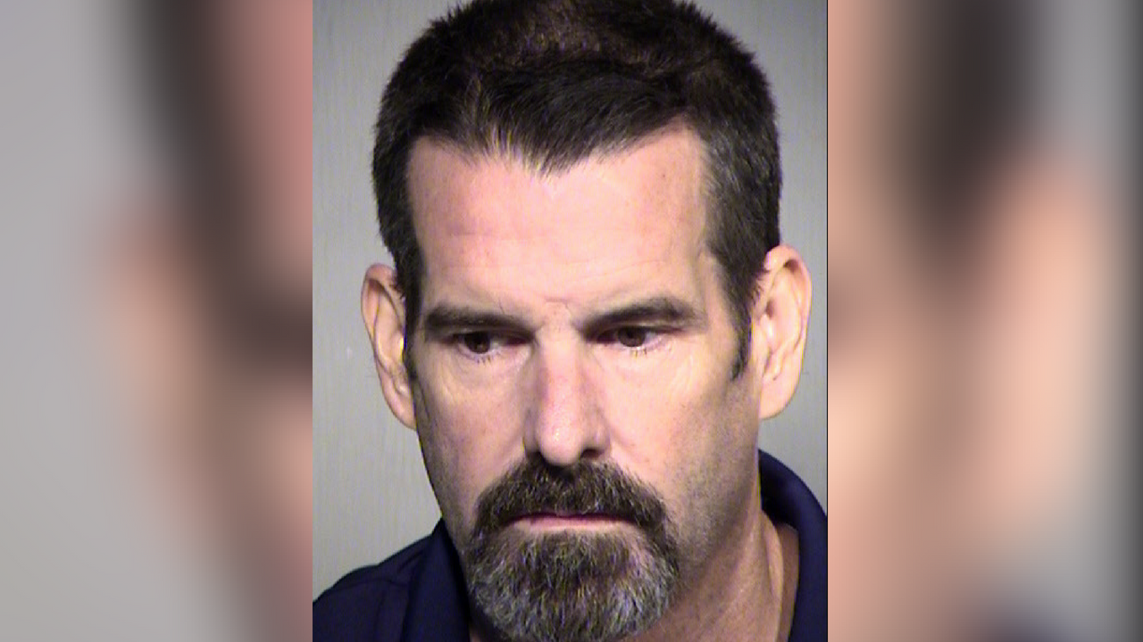 Jeffrey Daley, 51, arrested on DUI charges after being detected driving the wrong-way on I-17 by ADOT's wrong-way driver detection system. (Source: Maricopa County Sheriff's Office)