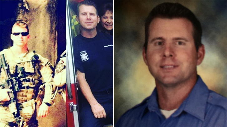 Firefighter Doherty was found dead in his quarters while on active military maneuvers at the Arizona Army National Guard Base in Phoenix. (Source: Phoenix Fire Department)