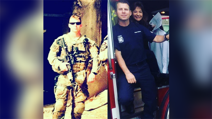 United Phoenix Firefighters said that Doherty served in two combat deployments to Iraq and Afghanistan. (Phoenix Fire Department)