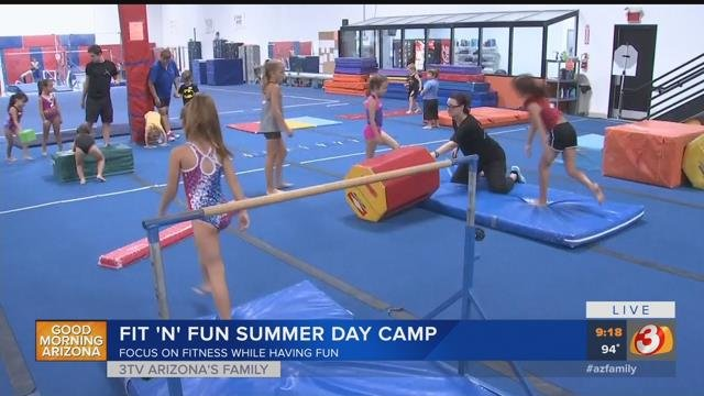 Xtreme Gymnastics has day cams for kids 3-12. (Source: 3TV/CBS 5)