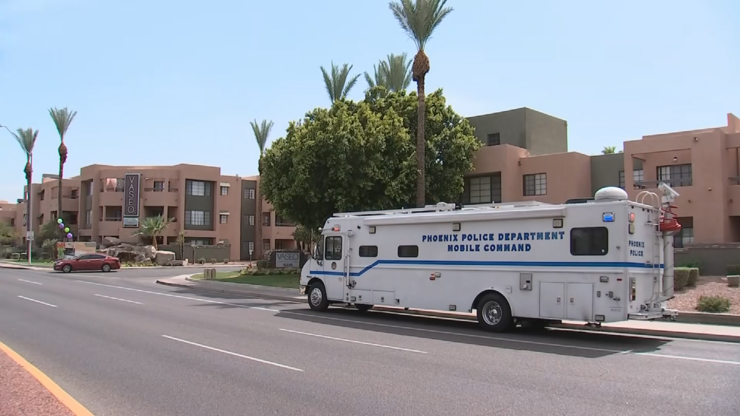 Police said a suspect pointed a gun at an officer and the suspect was shot. (Source: 3TV/CBS 5)