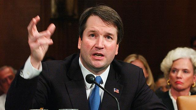 Supreme Court nominee Judge Brett Kavanaugh (Source: AP Photo/Dennis Cook, File)