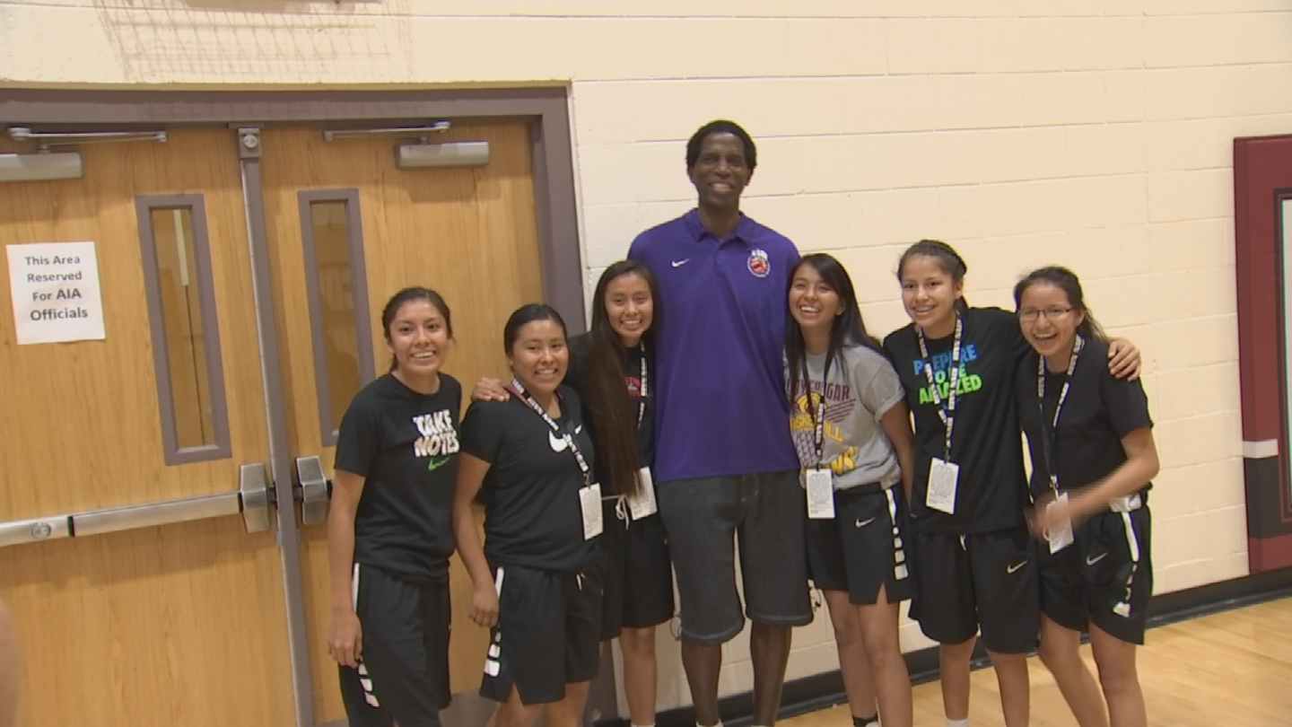 AC Green, part Native American, a former Phoenix Sun and three-time NBA champion continues to be an integral part of the tournament's leadership team. (Source: 3TV/CBS 5)