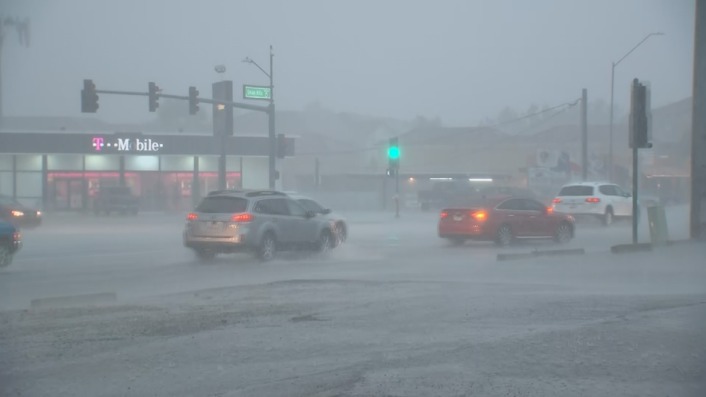If you see a storm coming, drivers are told to wait it out. (Source: 3TV/CBS 5)