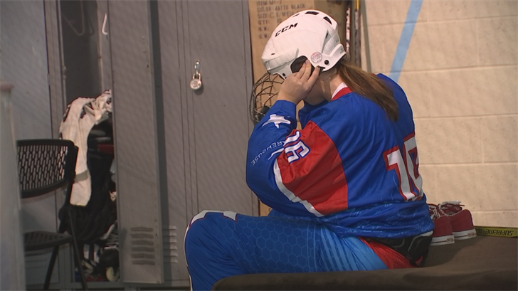 Thirty hours a week at those two jobs, plus 30 more at the rink, doesn't leave much time for anything else. (Source: 3TV/CBS 5)